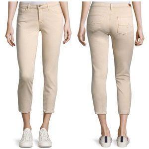 AG Jeans The Stilt Cigarette Crop